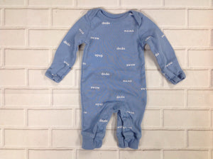 Carters Blue Print One Piece