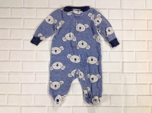 Carters Blue Print Sleepwear
