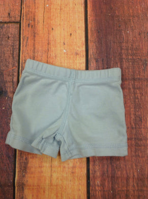 Carters Blue Solid Shorts