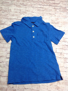 Carters Blue Solid Top
