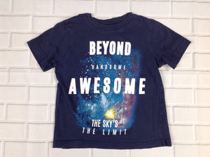 Carters Blue Space Top