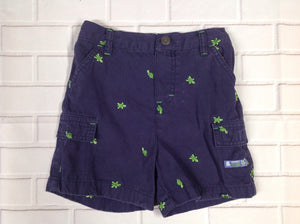 Carters Blue Turtles Shorts