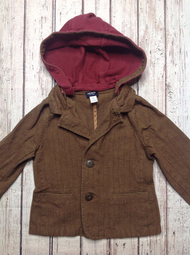 Carters Brown & Red Blazer