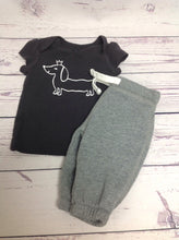 Carters GRAY PRINT 2 PC Outfit