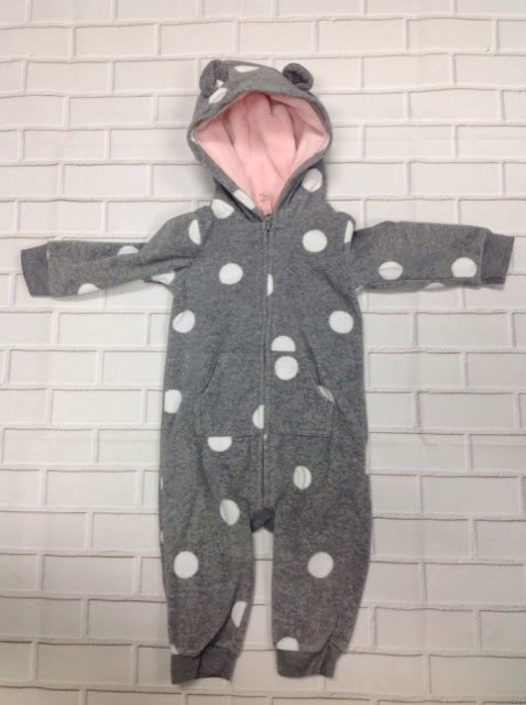 Carters GRAY PRINT One Piece