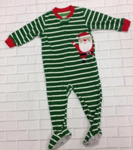 Carters Green & White Sleepwear