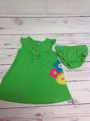 Carters Green Dress