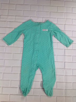 Carters Green Print One Piece