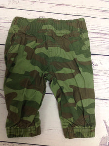 Carters Green Print Pants