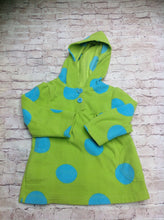 Carters LIME GREEN & BLUE Top