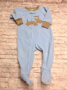 Carters Light Blue & Brown Sleepwear