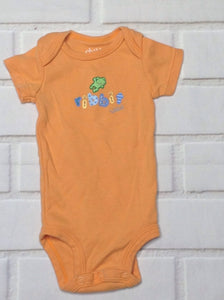 Carters Orange & Blue Onesie