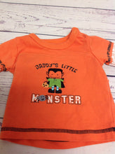 Carters Orange Monster Top
