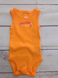 Carters Orange Onesie