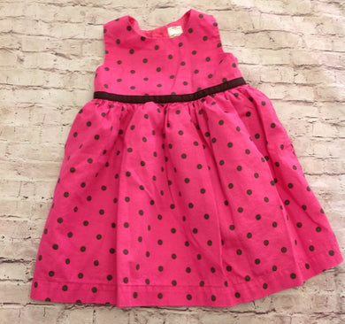 Carters PINK & BROWN Dress