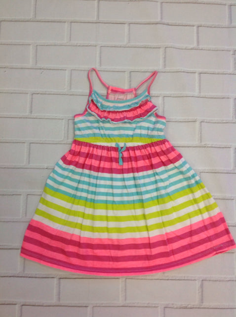 Carters Pink & Blue Dress