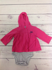 Carters Pink & Blue Top