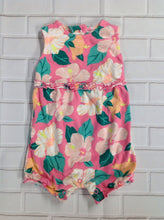 Carters Pink & Green One Piece