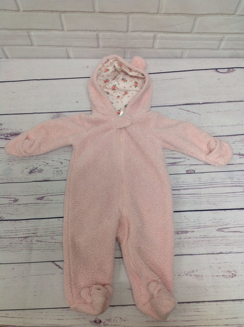 Carters Pink Snowsuit