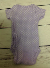 Carters Purple Print Onesie