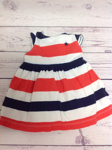 Carters RED, WHITE & BLUE Dress