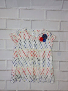 Carters Red & Blue Top