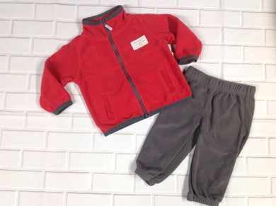 Carters Red 2 PC Outfit