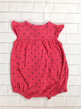 Carters Red Print One Piece