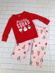 Carters Red Print Sleepwear