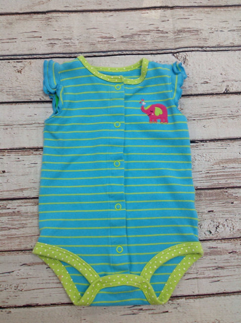Carters TEAL & GREEN One Piece