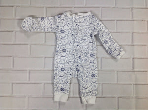 Carters WHITE & BLUE One Piece