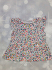 Carters White & Pink Top