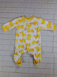Carters White & Yellow One Piece