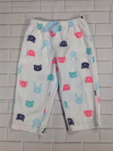 Carters White Print Sleepwear