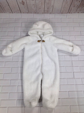 Carters White Snowsuit