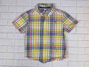 Carters YELLOW & BLUE Top