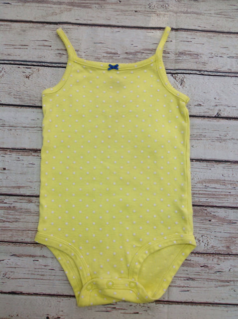 Carters Yellow & White Top