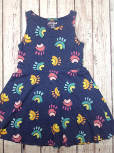 Cat & Jack Blue Print Dress