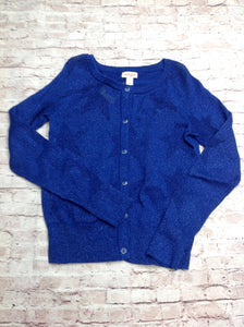 Cat & Jack Blue Print Sweater