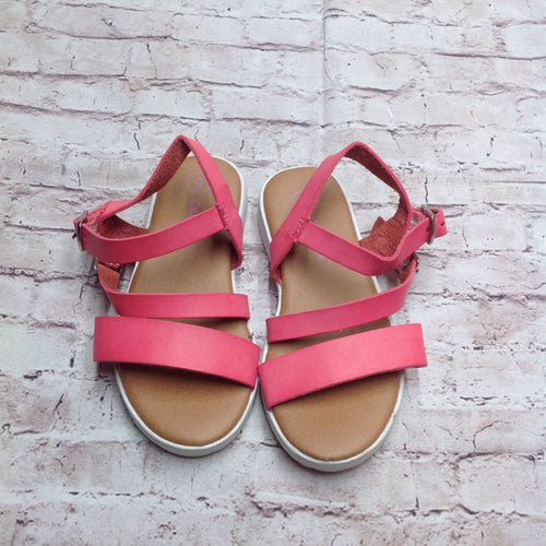 Cat & Jack PINK & BROWN Sandals