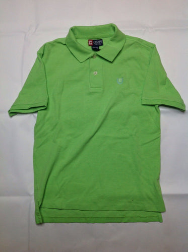 Chaps Green Solid Top