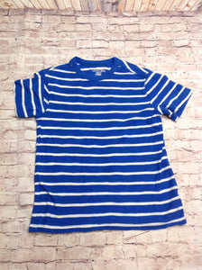 Cherokee Blue & White Stripe Top