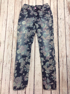Cherokee Blue Print Pants