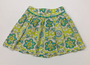 Cherokee Green & White Skirt
