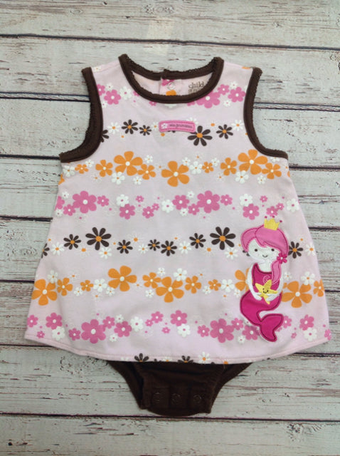Child of Mine PINK & BROWN One Piece
