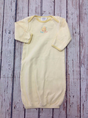 Child of Mine Yellow Print Gown