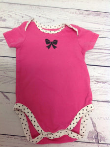 Children's Place PINK & BLACK Top