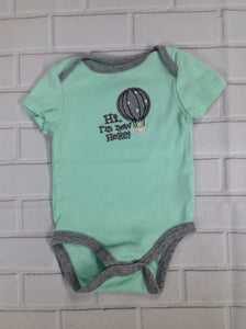 Circo Green & Gray Onesie