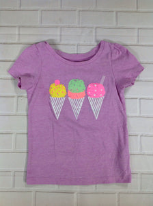Circo Purple Print Ice Cream Cone Top