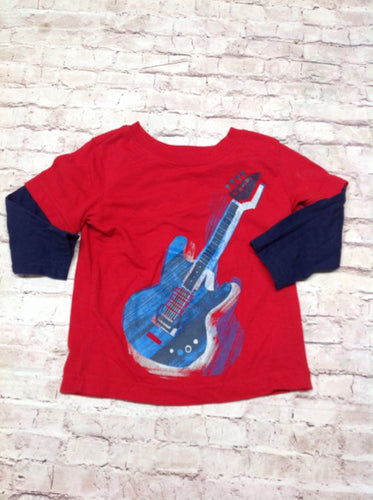Circo Red & Blue Top